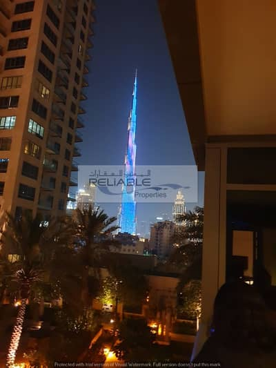 1 Bedroom Apartment for Rent in Downtown Dubai, Dubai - Beautiful Bur Khalifa and Community view| Fully Furnished 1 Bedroom