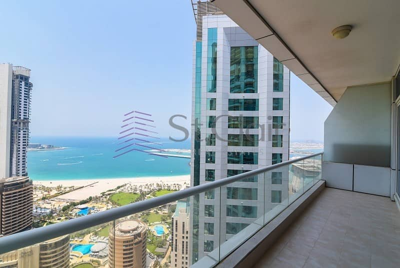 Large 1 Bed | Marina and Sea View | High Floor