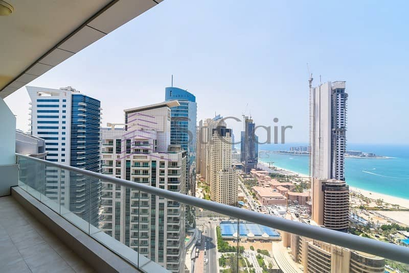 2 Large 1 Bed | Marina and Sea View | High Floor