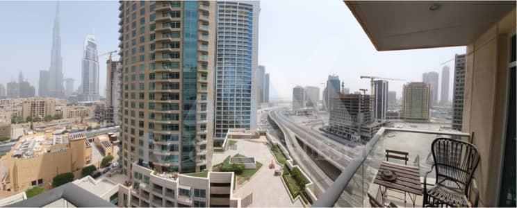 شقة في برج فيوز B برج فيوز وسط مدينة دبي 1 غرف 80000 درهم - 4237309