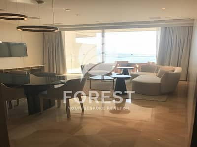 2 Bedroom Flat for Rent in Palm Jumeirah, Dubai - Full Sea View Luxury Fully Furnished 2 bedrooms