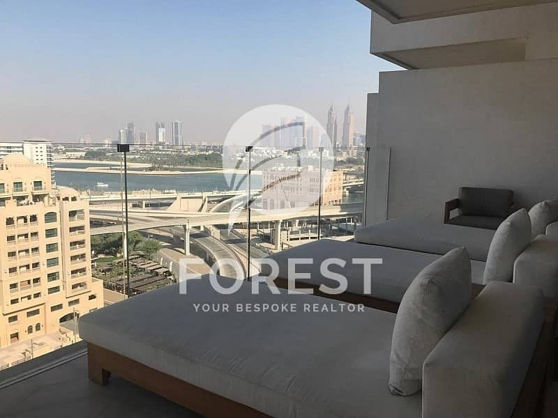 2 Full Sea View Luxury Fully Furnished 2 bedrooms