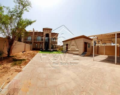 5 Bedroom Villa for Rent in Khalifa City A, Abu Dhabi - BEST DEAL-5 MASTER BR WITH/DRIVER ROOM OUTSIDE