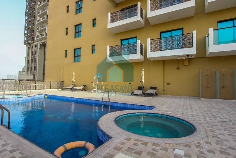 2 Brand New  | 3 Bed + Maids | Chiller Free | Riah Towers