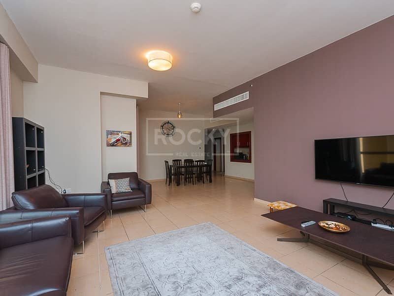Furnished | 3 Bed | Kitchen Equipped | JBR