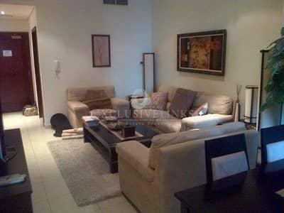 شقة 1 غرفة نوم للايجار في دبي مارينا، دبي - Great location furnished 1 bedroom for rent