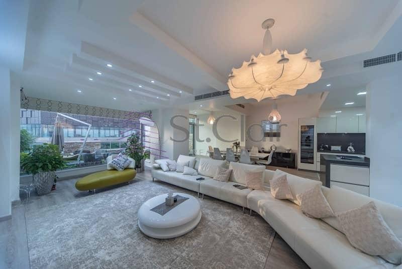 2 5 Beds + Maid Villa Fully Upgraded w/ Marina View