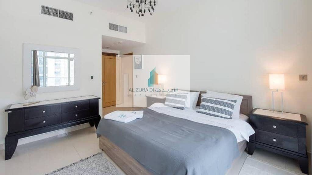 2 BEAUTIFUL FULLY FURNISHED 1 BEDROOM APARTMENT WITH BALCONY