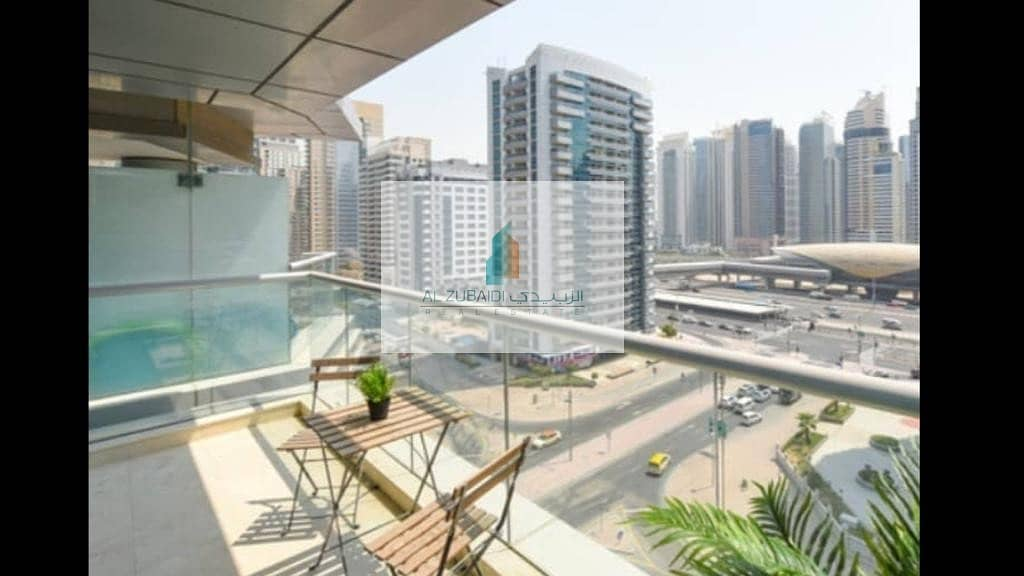 8 BEAUTIFUL FULLY FURNISHED 1 BEDROOM APARTMENT WITH BALCONY