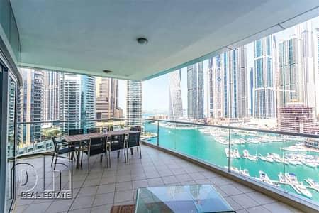 3 Bedroom Apartment for Rent in Dubai Marina, Dubai - Stunning 3bedroom with stunning marina view