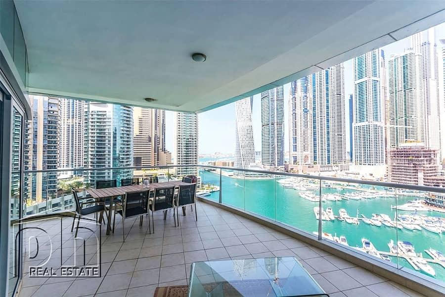 Stunning 3bedroom with stunning marina view
