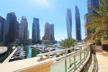 فیلا 4 غرفة نوم للايجار في دبي مارينا، دبي - 4 Bed | Full Marina View | Large Terrace