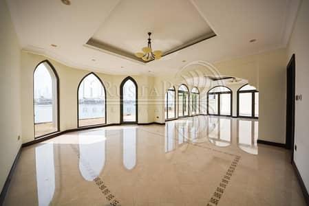 فیلا 4 غرفة نوم للايجار في نخلة جميرا، دبي - Garden Home - Atruim Entry - Marina facing