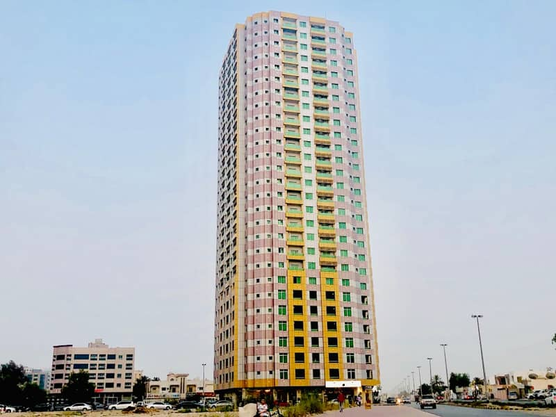 AFFORDABLE PRICE: 2-BHK Apartment for Rent in Al Anwear Tower, Al Nuaimiya 3, Ajman