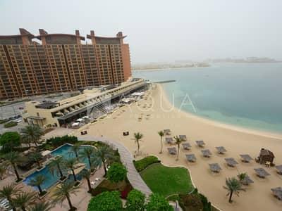 فلیٹ 1 غرفة نوم للبيع في نخلة جميرا، دبي - High Floor 1 Bedroom Panoramic Sea View