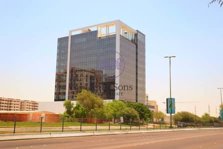 مکتب  للايجار في روضة أبوظبي، أبوظبي - Huge brand new shell and core office for rent direct from the landlord