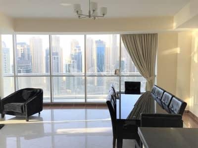فلیٹ 3 غرفة نوم للايجار في دبي مارينا، دبي - 3BR Penthouse   Full Marina View   The Waves Tower A