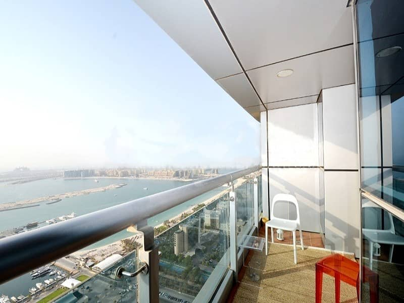 Full Sea View   2 BED   Unfurnished Apt.