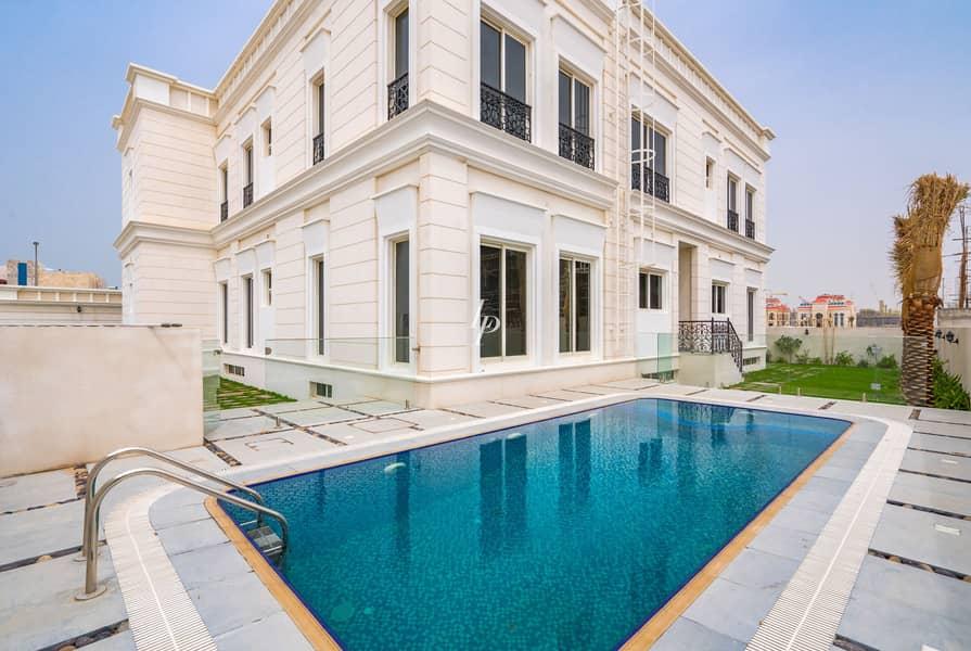 20 8-Bed Pearl Jumeirah Villa |Sea Facing |