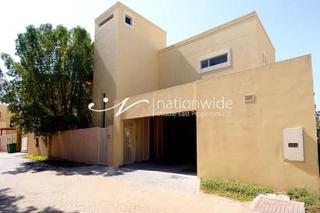 3 Bedroom Villa for Rent in Al Raha Gardens, Abu Dhabi - 2 Chqs   Large Villa With A Touch Of Serenity