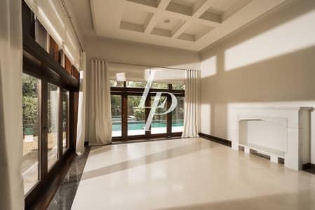 6 Bedroom Villa for Rent in Al Barari, Dubai - Stunning D Type|Available Now for Rent|Huge Plot|