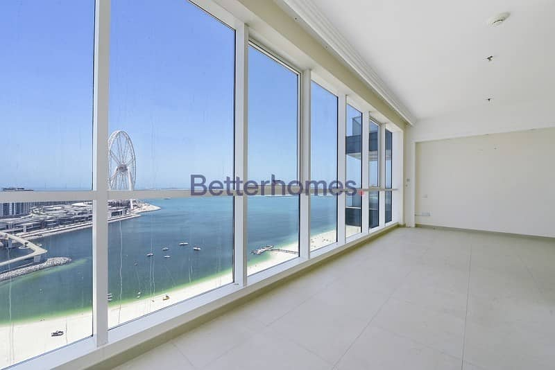 Al BaType A2A| Balcony|Sea View| Open Plan Kitchen| Maid's