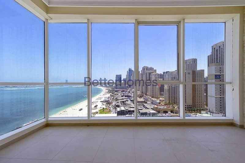 2 Al BaType A2A| Balcony|Sea View| Open Plan Kitchen| Maid's