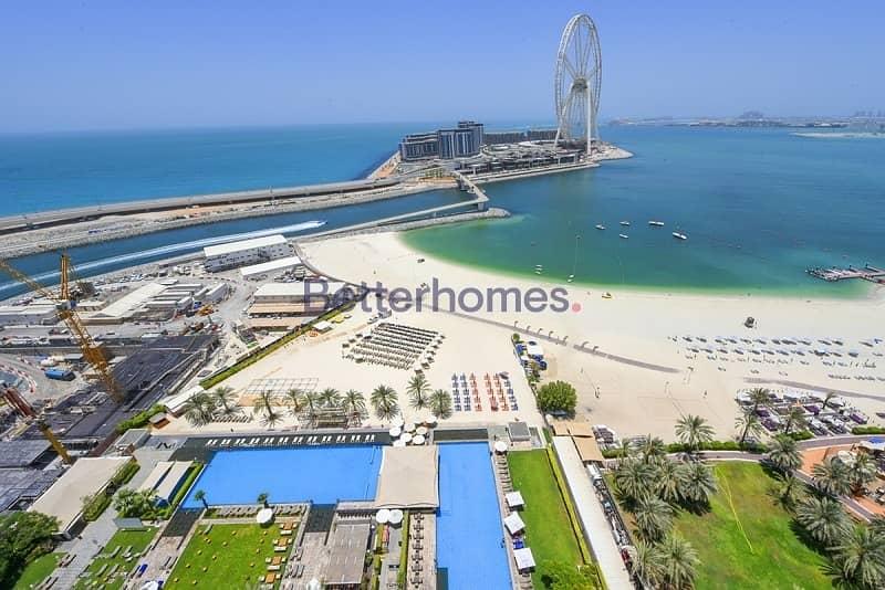 10 Al BaType A2A| Balcony|Sea View| Open Plan Kitchen| Maid's