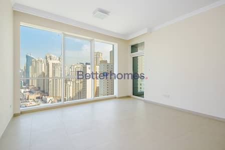 1 Bedroom Apartment for Rent in Jumeirah Beach Residence (JBR), Dubai - One Bedroom| Sea View | High Floor| Vacant