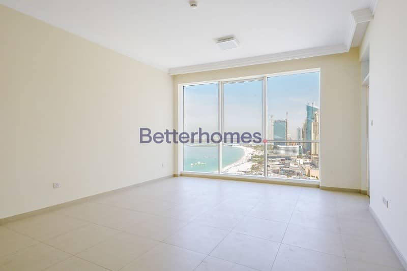 2 One Bedroom| Sea View | High Floor| Vacant