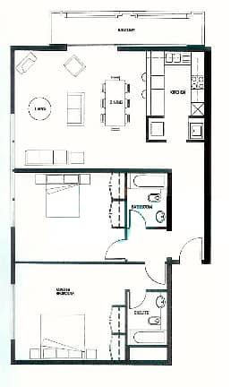 10 Large   2 Bedrooms   Pool and Garden Views