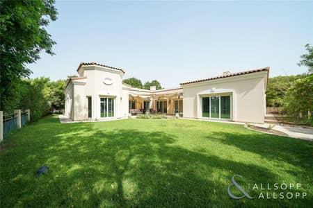 4 Bedroom Villa for Rent in Green Community, Dubai - Four Bedroom Bungalow   Landscaped Garden