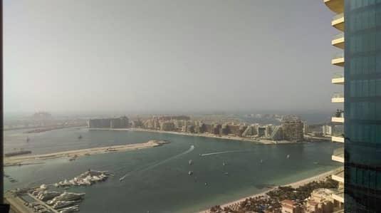شقة 2 غرفة نوم للايجار في دبي مارينا، دبي - Well Maintained | High Floor | Sea View Apt