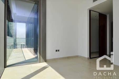 شقة 2 غرفة نوم للايجار في دبي مارينا، دبي - Corner / High floor/Unfurnished / pets friendly