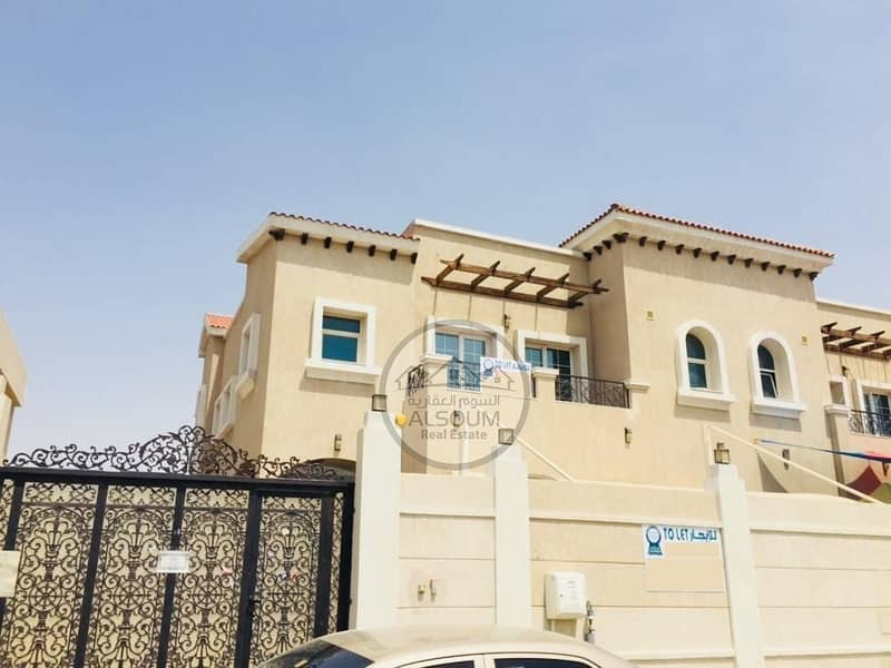 BEAUTIFUL WELL-MAINTAINED 4 BHK COMMERCIAL VILLA AVAILABLE IN DASMAN, SHARJAH *ONE MONTH FREE*