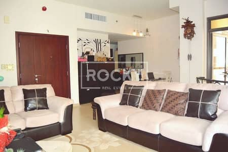 Furnished 2 Bed with Marina View in JBR