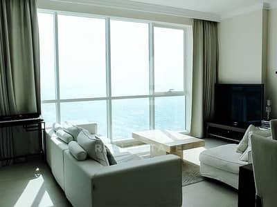 3 Bedroom Flat for Sale in Jumeirah Beach Residence (JBR), Dubai - Al Bateen Residence | Sea View | Vacant 3BR