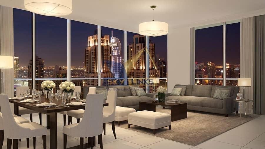 2BR Apartment for sale in BLVD Crescent
