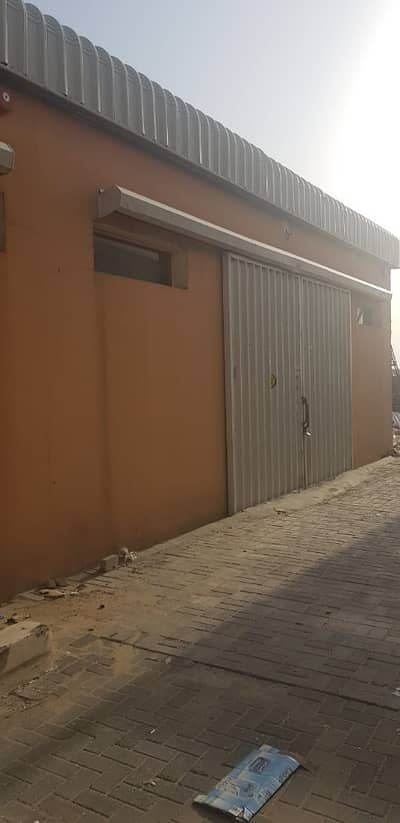 Warehouse for Rent in Al Jurf, Ajman - 1500 sq ft / Warehouse for rent in Al Jurf, Ajman