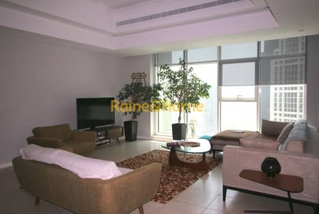 2 Bedroom Apartment for Rent in Jumeirah Lake Towers (JLT), Dubai - 2BR Furnished with Balcony