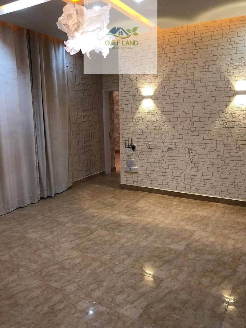 High finishing 2 bedrooms  Maids room Apartment in airport street for rent