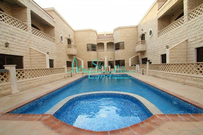 LOVELY SPACIOUS 5 BED SHARED POOL GYM UMM SUQEIM 1