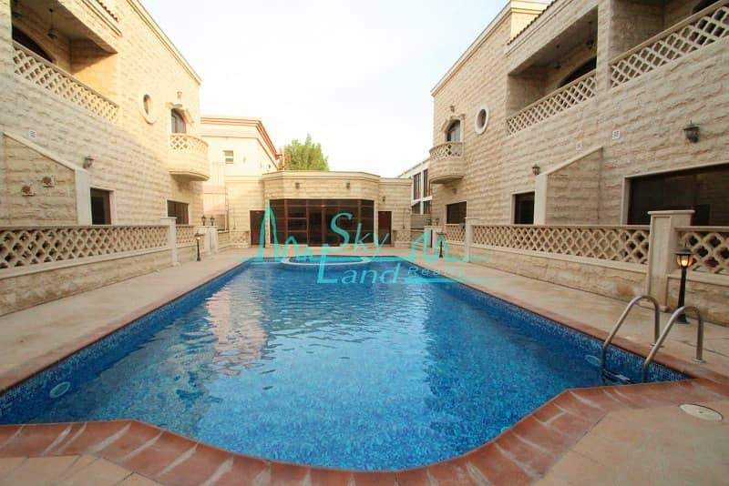 2 LOVELY SPACIOUS 5 BED SHARED POOL GYM UMM SUQEIM 1