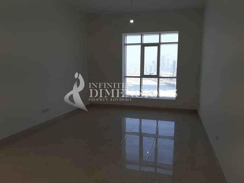Brand New 2 BR + MR in Marina Tower for Rent!