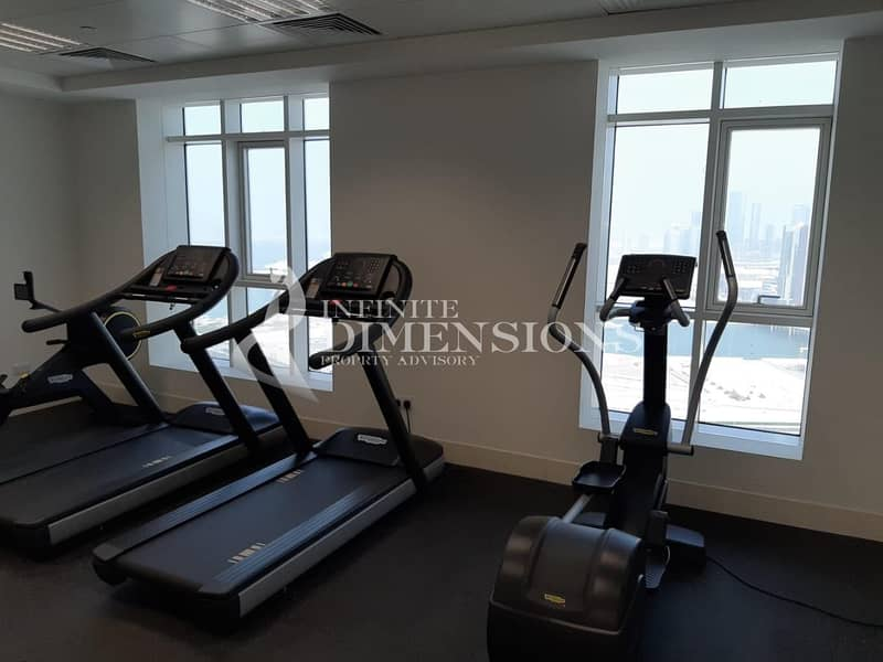 2 Brand New 2 BR + MR in Marina Tower for Rent!