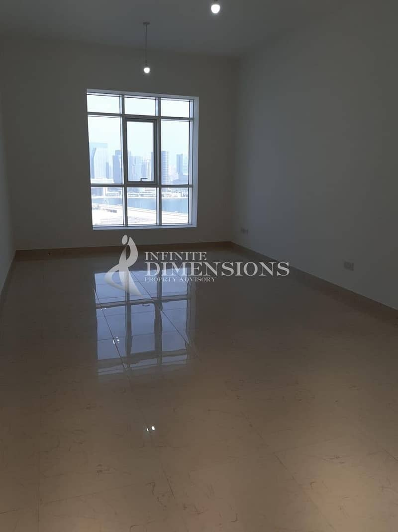 10 Brand New 2 BR + MR in Marina Tower for Rent!