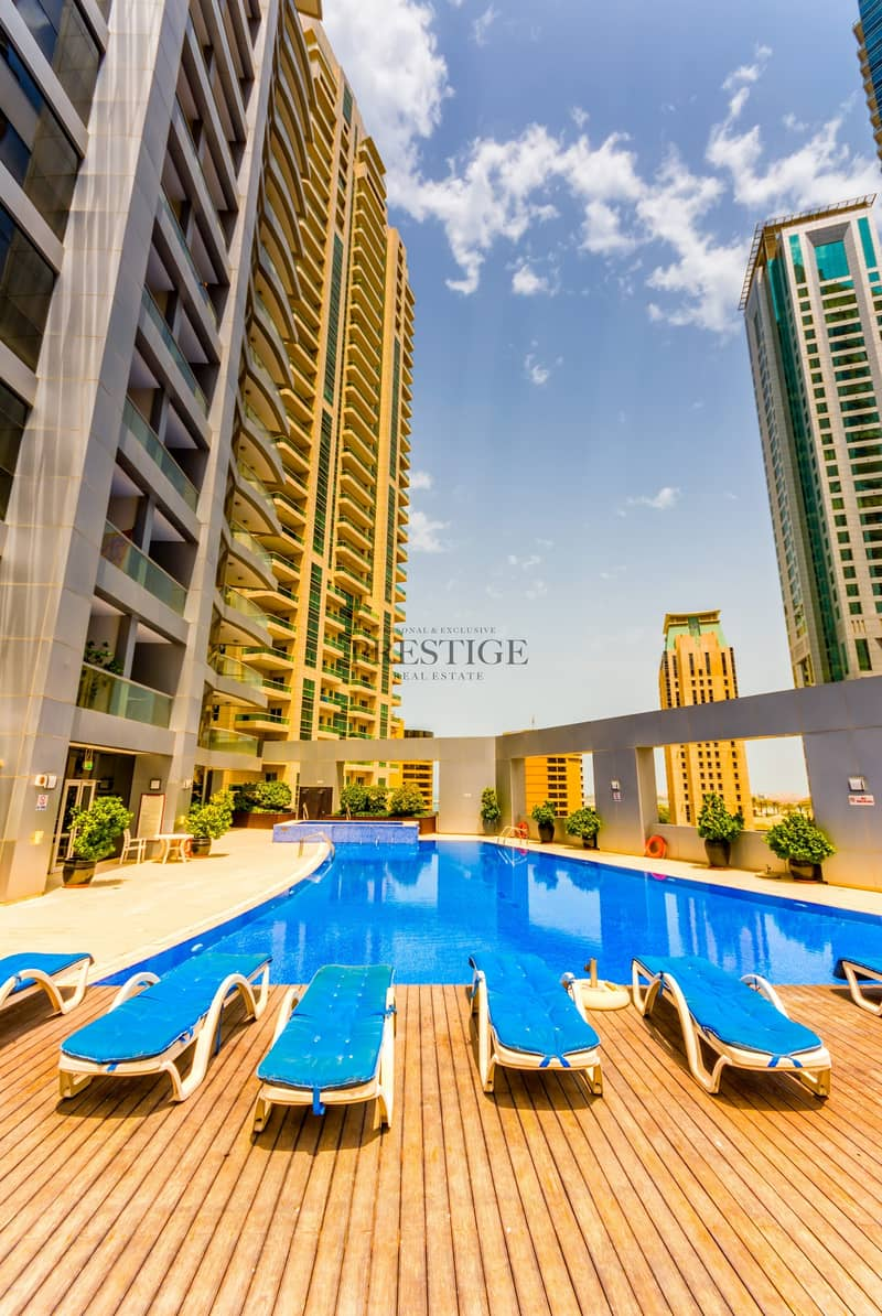 11 Furnished 2Br|SkyView Tower|Chiller Free