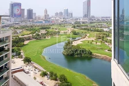 شقة فندقية 2 غرفة نوم للايجار في التلال، دبي - Furnished Serviced Hotel Apt|Partial Golf Course