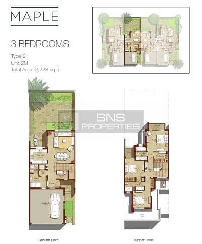 11 Nature Surrounded 3BR  + Maid in Maple 3