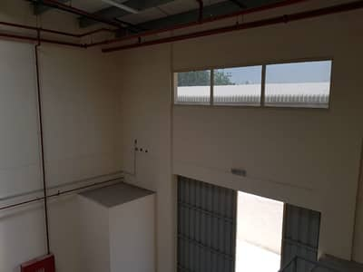 Warehouse for Rent in New Industrial City, Ajman - Brand new 4000 sq ft warehouse with mezzanine @AED 85000 in New Industrial Area - Ajman